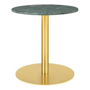 Brass marble Round Tall Table