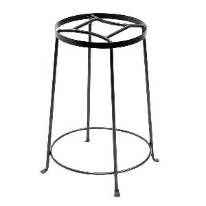 Round Wrought Iron Planter Stand