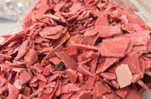 Acrylic Red Regrind Scrap