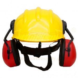 Ear muff EP 23 with helmet
