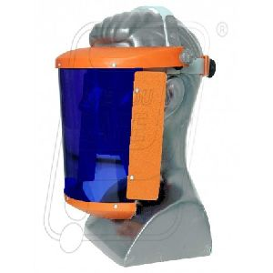Face shield Blue 6 x 11 A type + Head Ring