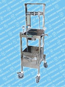 Portable Trolley Model Anesthesia Machine