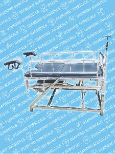 Telescopic Fixed Height Obstetric Cum Gynae Table