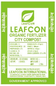 City Compost Organic Fertilizer