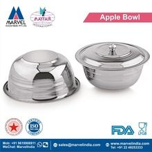 Apple Bowl With and Without Cover