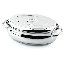 OVAL BELLY ROASTER WITH COVER