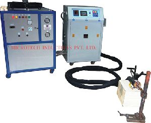 Induction Brazing Machine with HHT 04
