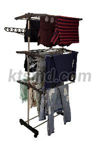 KTS Stainless Steel Single Pole Cloth Drying Stand
