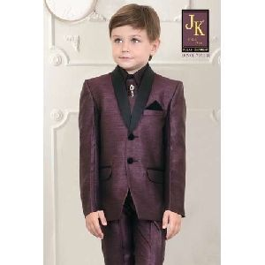 Brown Kids Coat Suits