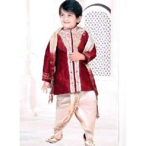 Kids Ethnic Dhoti Suits
