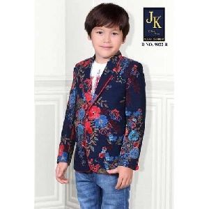 Printed Kids Blazer