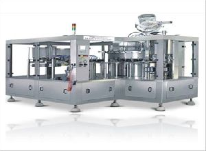 Bottle Rinsing and Filling Machine