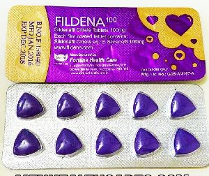 Fildena-100mg Tablets