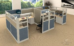 Office Cubicle Workstation