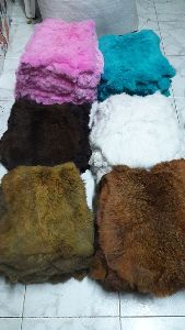 Dyed Rabbit Skins