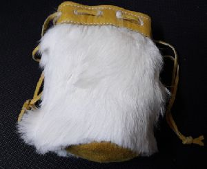 Rabbit Fur Hand Bag