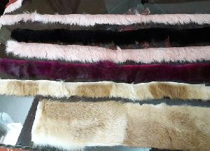 Rabbit Fur Lace Strip Trim