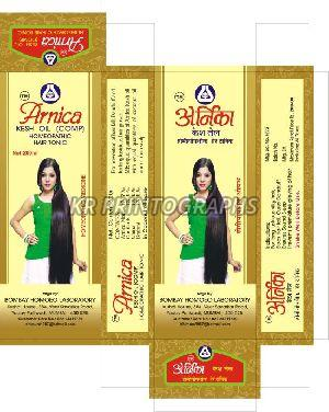 Arnica Hair Oil Box