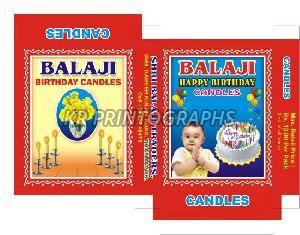 Birthday Candle Box