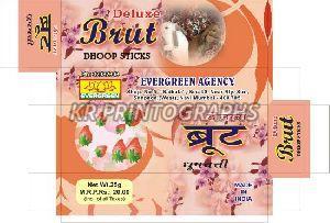 Brut Dhoopbatti Box