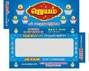 Cup Candle Box