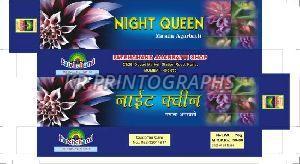 Night Queen Agarbatti Box