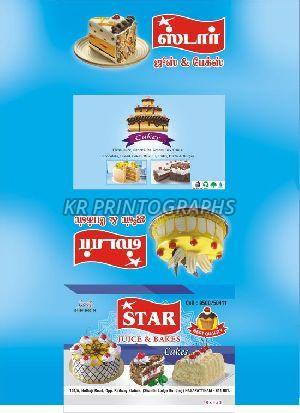 Star Cake Box