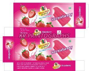 Strawberry Ice Cream Box