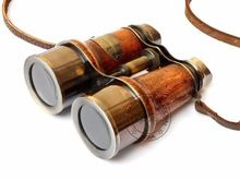 ANTIQUE NAUTICAL BINOCULAR