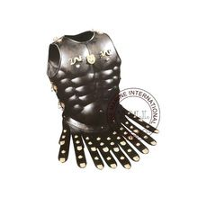 Black Antique Medieval Greek Muscle Armor