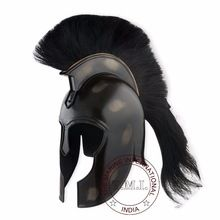 Black Troy Helmet