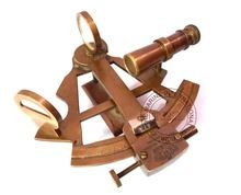 BRASS SHIP SEXTANT