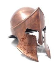 Copper Antique Spartan Helmet