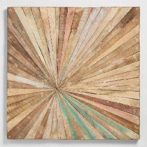 Abstract Wood Wall Art 05