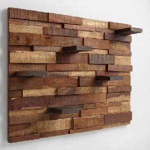 Abstract Wood Wall Art 06