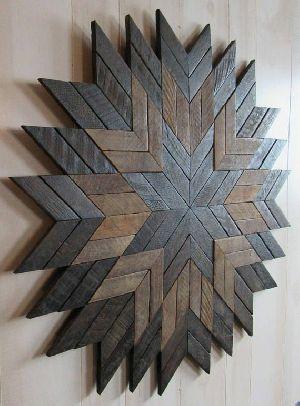 Abstract Wood Wall Art 09