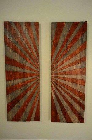 Abstract Wood Wall Art 13