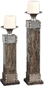 Metal Candle Holders