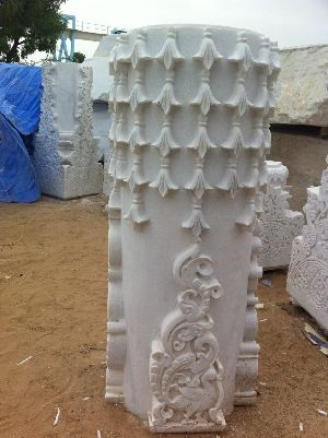 Marble Temple Carving 04