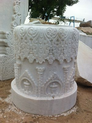 Marble Temple Carving 06