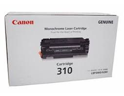 Canon 310 Black Toner Cartridge