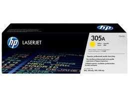 HP CE412A Yellow Toner Cartridge (305A)