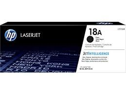HP CF218A Black Toner Cartridge (18A)