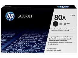 HP CF280A Black Toner Cartridge (80A)