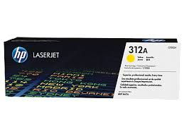 HP CF382A Yellow Toner Cartridge (312A)