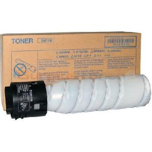 Konica Minolta TN 118 Black Toner Bottle