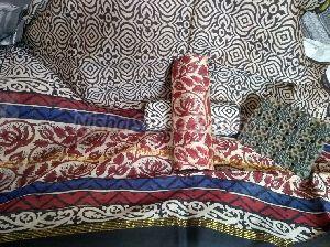Chanderi Cotton Unstitched Suit 01