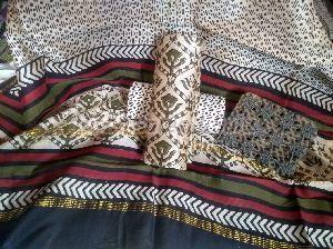 Chanderi Cotton Unstitched Suit 03