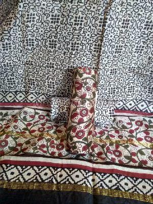 Chanderi Cotton Unstitched Suit 06