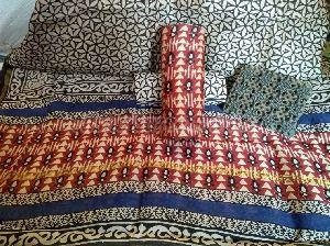 Chanderi Cotton Unstitched Suit 09
